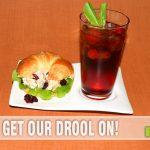 Rotisserie Chicken Salad and Cherry Sweet Tea #TEArifficPairs