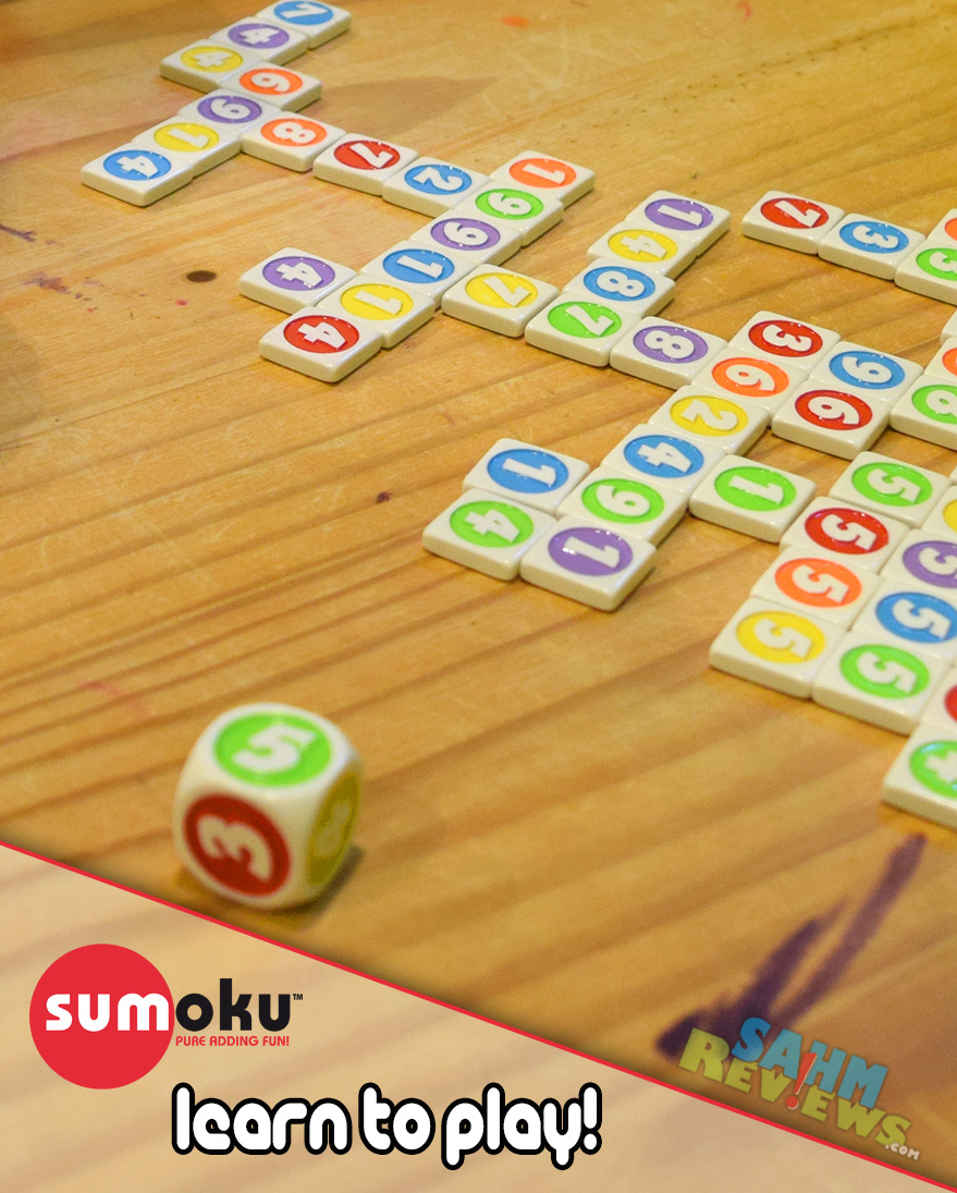 Sumoku is a sudoku-like game using number and colors. Learn while you play! - SahmReviews.com