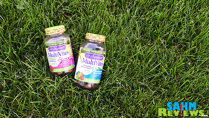 Vitafusion MultiVites PLUS are a great alternative to traditional multivitamins. They're GUMMY! - SahmReviews.com