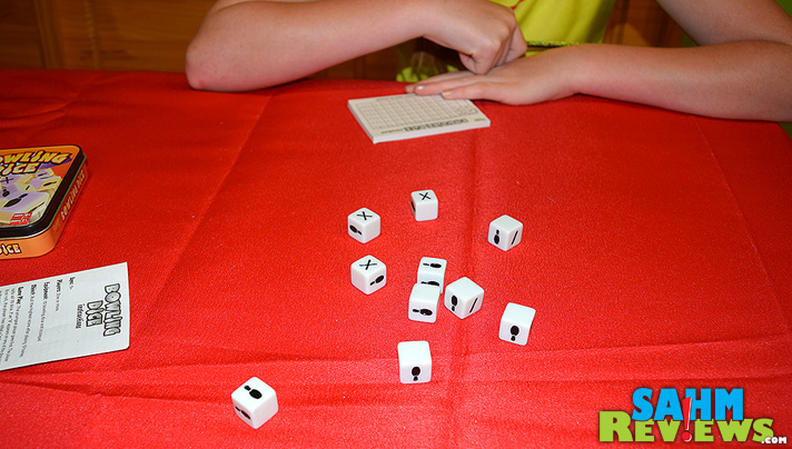 If you can't get to your local alley, or the kids are too young to pick up a ball, check out Bowling Dice by Fundex to help them learn the basics! - SahmReviews.com