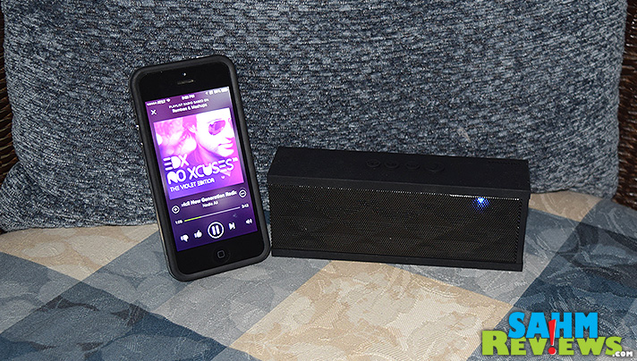 For wireless sound on-the-go, this portable MagicBox Wireless Speaker from DKnight might be your best solution! - SahmReviews.com