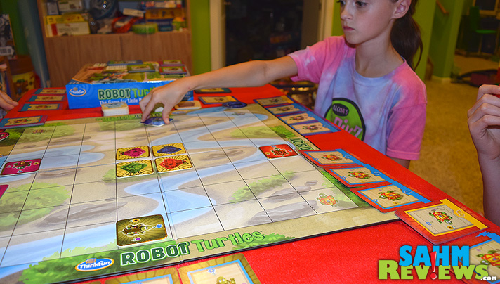 Use Robot Turtles to shape the mind of that young programmer in your household while disguising it as a game! - SahmReviews.com