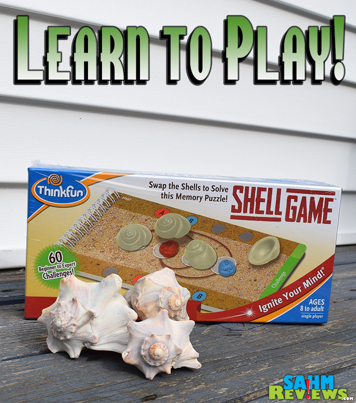 You won't lose any money in this challenging version of the Shell Game by ThinkFun! - SahmReviews.com