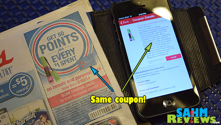 Forget your coupons at home? Not if you have the app! - SahmReviews.com #WalgreensPaperless