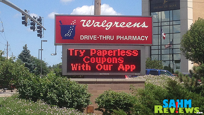 Try paperless coupons with the Walgreens app! - SahmReviews.com #WalgreensPaperless