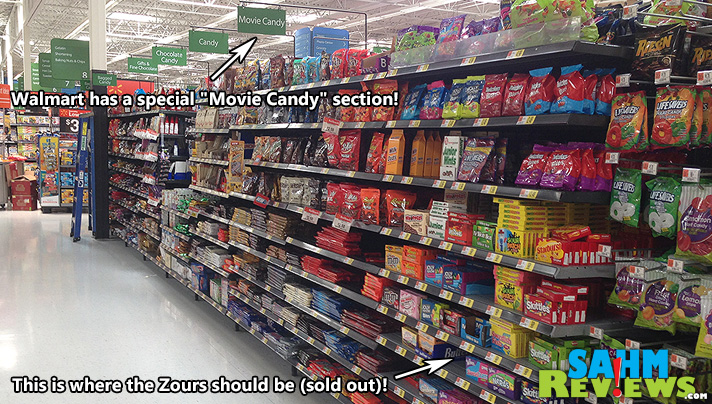 Mike and Ike Zours may be sour but they're also HOT. A hot commodity that is. Walmart can't keep them in stock! - SahmReviews.com #ZoursFace #shop