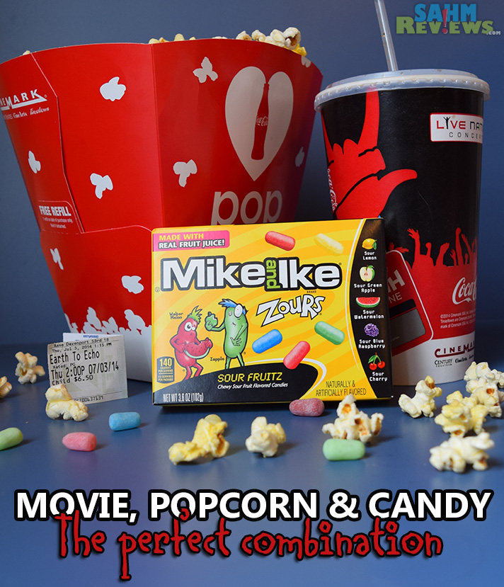 Whether you're watching movies at home or at a theater, make sure you have the best movie snacks! Popcorn, pop and Zours! - SahmReviews.com #ZoursFace #shop