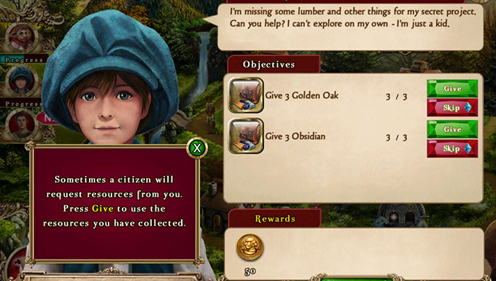 There are always a variety of quests to choose from in Awakening Kingdoms by Big Fish Games. - SahmReviews.com #app #puzzles