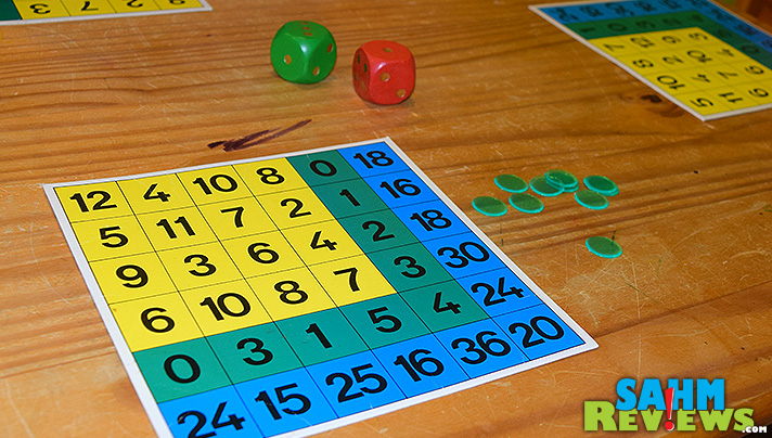 Get your kids to brush up on their math skills with Giant Dice by Child's Play International. - SahmReviews.com