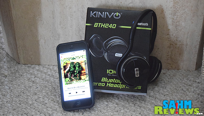 Lightweight and very long battery life.  The Kinivo BTH240 should probably be your next set of wireless headphones. - SahmReviews.com