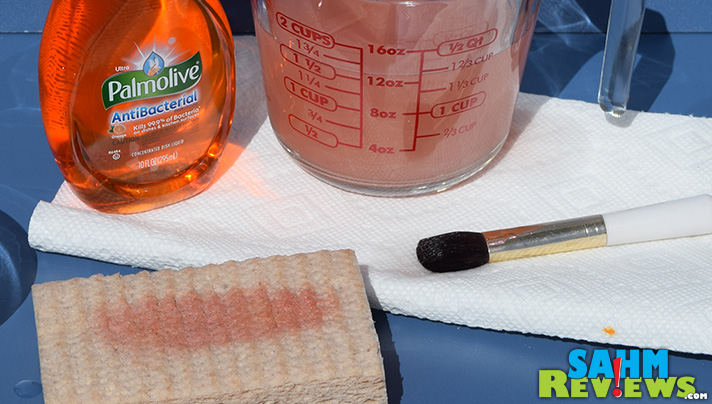 Clean your makeup brushes. Step 5 - Air dry. - SahmReviews.com #PalmoliveWM