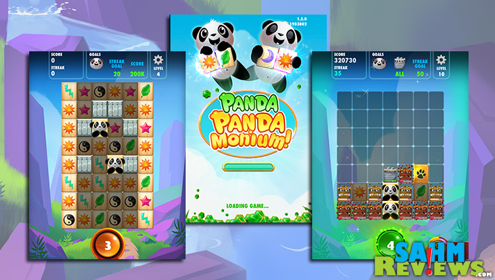 Help free the pandas in this Mahjong inspired game. - SahmReviews.com #app #game