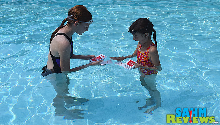 Make a splash at your next pool party with a game of cards that you can get wet! - SahmReviews.com