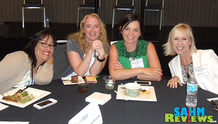 Spoke on a luncheon panel hosted by U.S. Cellular during BlogHer14. We covered mobile manners, age for first phone and more. - SahmReviews.com #BloggerBrigade