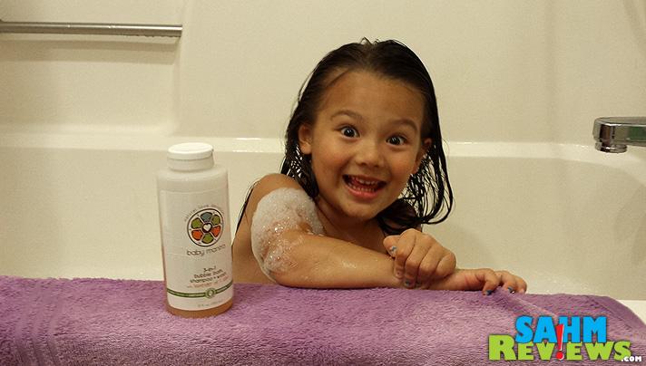 Ahhh... the heaven that is a bubble bath. - SahmReviews.com