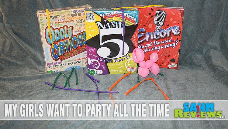 An Endless Party with Endless Games