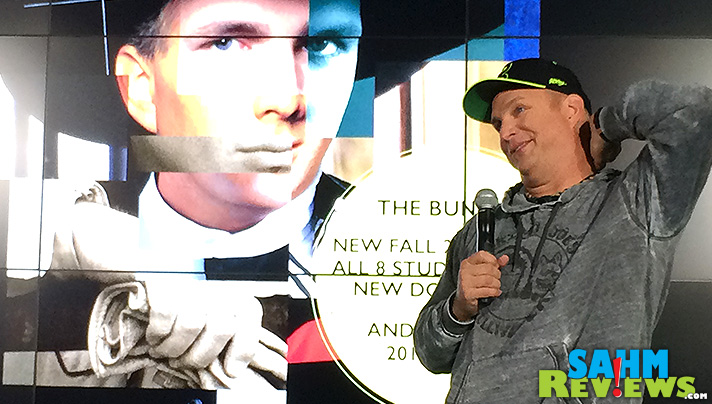 Garth Brooks shares thoughts on his tour, digital music, ticket sales and more during the 2014 World Tour Press Conference. - SahmReviews.com #GarthGoesGhost