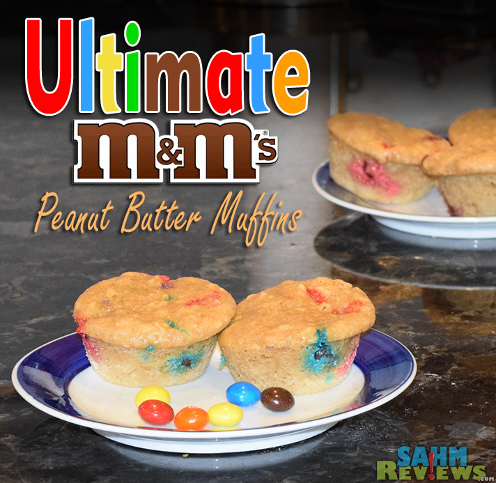 Breakfast just got better with PB M&M Muffins - SahmReviews.com #HeroesEatMMs