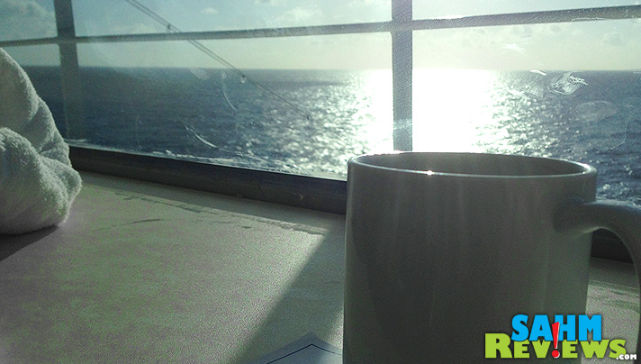 Number 9 on our list of 10 Things to Pack for a Cruise: a travel mug! -  SahmReviews.com