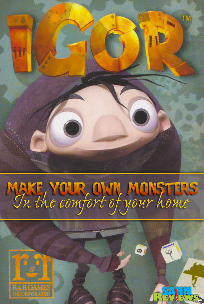 R&R Games has made monster-making fun and not messy. Check out Igor, their latest card game playable by all ages! - SahmReviews.com
