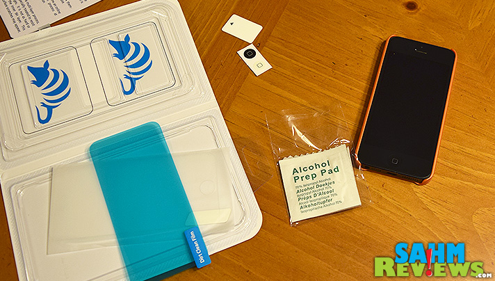 Not all screen protectors are the same. IntelliGlass from IntelliArmor not only protects from scratches, it seems to magically repel fingerprints! - SahmReviews.com