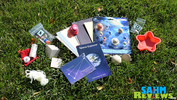 Montessori By Mom Space Explorer Toolkit has a variety of fun materials for learning about space! - SahmReviews.com