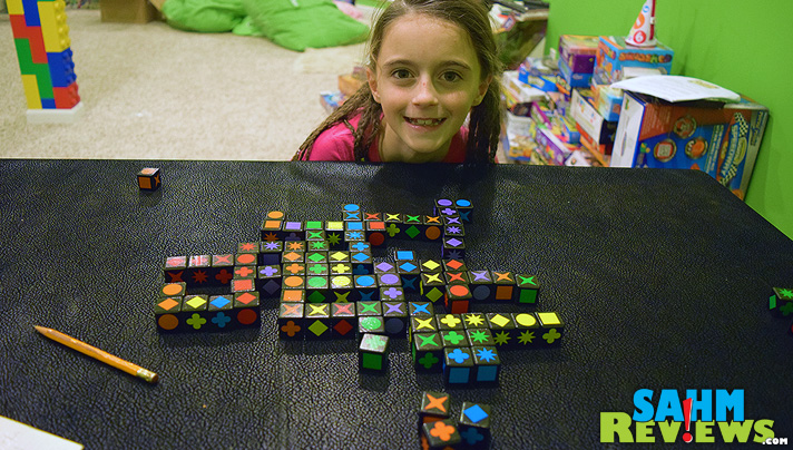 This week's Thrift Treasure is a double-find of Qwirkle & Qwirkle Cubes by Mindware.  Similar rules, but two very different strategies. - SahmReviews.com