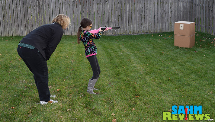 Carry on a family tradition, even if you have girls with a Daisy BB gun from Walmart. - SahmReviews.com #ItsADaisy #shop #CollectiveBias