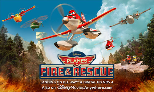 Disney Planes Fire and Rescue is an exciting story of everyday heroes. - SahmReviews.com #FireandRescue