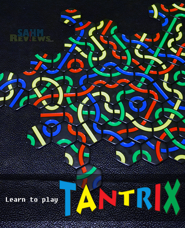 Tantrix by Family Games America looks simple, but has some REAL strategy going on. It'll become your favorite travel game! - SahmReviews.com