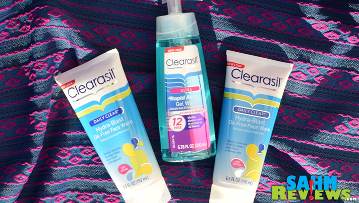 Clearasil offers choices for your teen/tween's skin care needs. - SahmReviews.com
