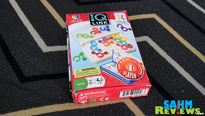 This week's Thrift Treasure is a single-player puzzle game with dozens of challenges. Take a look at IQ Link! - SahmReviews.com