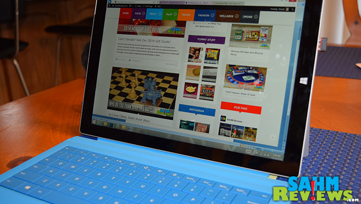Working with the #Intel2in1 Microsoft Surface Pro 3 - SahmReviews.com