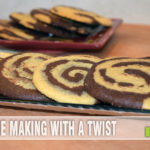 Five Quick Striped and Marbled Cookies