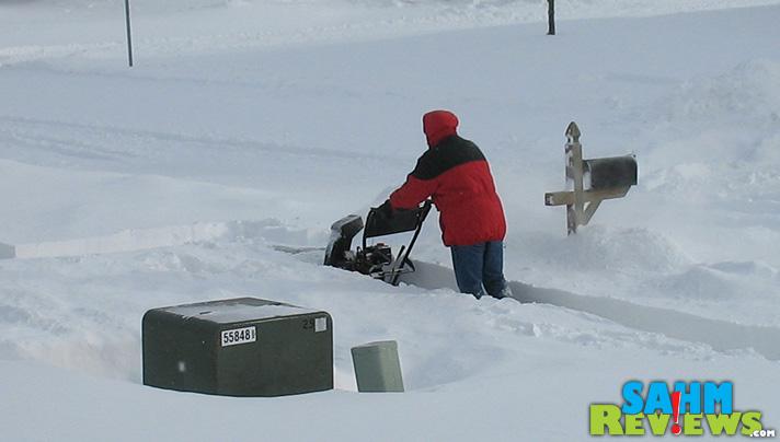 That's a LOT of snow! - SahmReviews.com