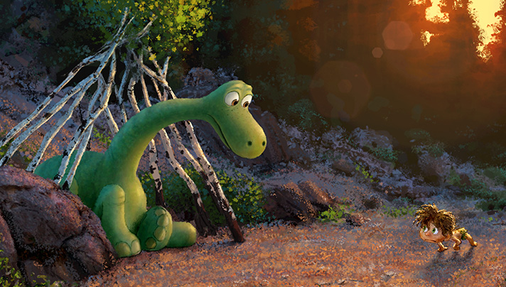 Disney and Pixar bring us The Good Dinosaur. In theaters on November 25, 2015. - SahmReviews.com #TheGoodDinosaur