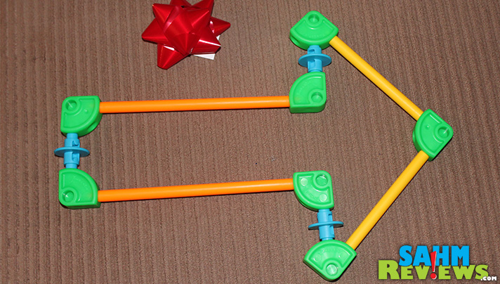Create the perfect bow and arrow with Tinker Toys. - SahmReviews.com