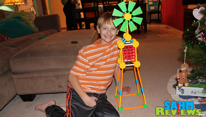 Tinker Toys are great for many age ranges. - SahmReviews.com