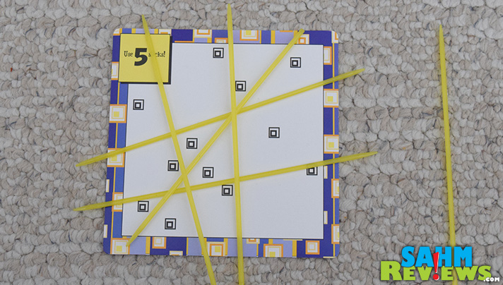 This week's Thrift Treasure is another single-player puzzle challenge using sticks and cards. Noodlers from MindWare wasn't for me, but it may be for you! - SahmReviews.com