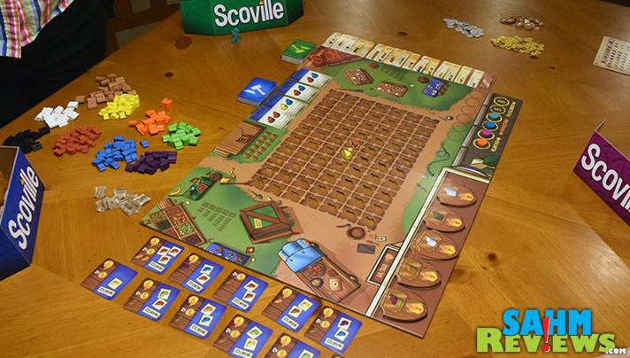 We're growing our own peppers in this new title from Tasty Minstrel Games. Scoville definitely turns up the heat! - SahmReviews.com