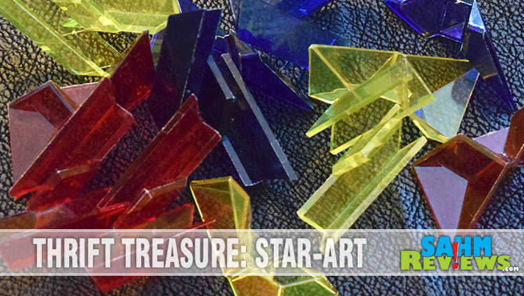 Thrift Treasure: Geo-Logic Star-Art