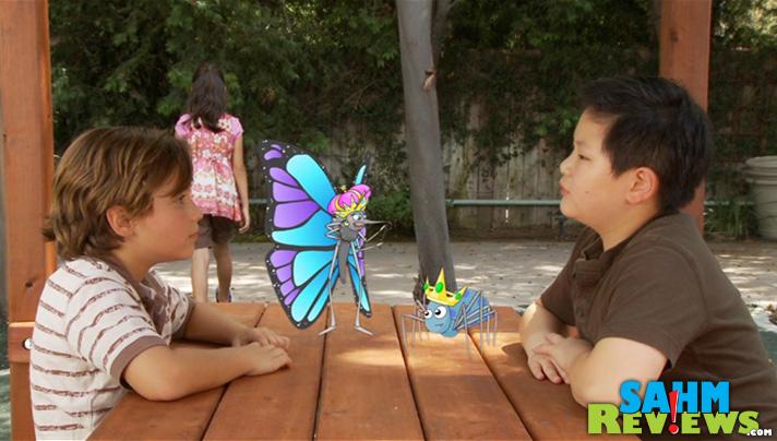 Video modeling is incorporated into Behaviors with Friends app to teach kids proper behavior. - SahmReviews.com #Teach2Talk #BehaviorsApp