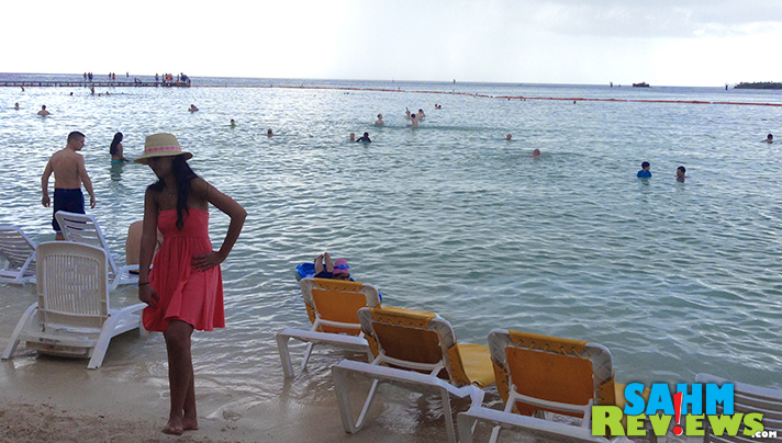 Check to see if your port has a beach where you can snorkel, swim or sunbathe on your own schedule. - SahmReviews.com
