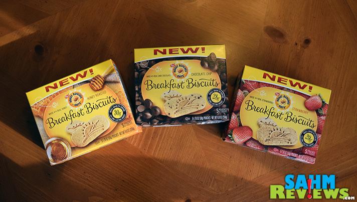Honey Bunches of Oats Breakfast Biscuits - SahmReviews.com #HBOBiscuits