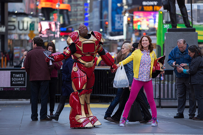 "Tituss Burgess stars as Kimmy Schmidt's roommate in the Netflix original ""Unbreakable Kimmy Schmidt"". - SahmReviews.com #StreamTeam"