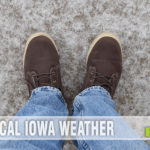 """Our recent ice storm was no match for my new Lugz boots. The snug fit and memory foam kept me steady on nearly 1"""" of freezing rain! - SahmReviews.com"""