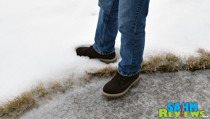 "Our recent ice storm was no match for my new Lugz boots. The snug fit and memory foam kept me steady on nearly 1"" of freezing rain! - SahmReviews.com"