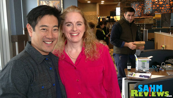 "Filming ""Our Food. Your Questions."" for the McDonald's web series featuring Grant Imahara. - SahmReviews.com"