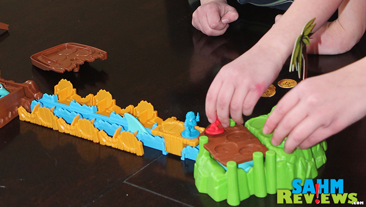 Shark Mania is a 3D interactive board game for the whole family. - SahmReviews.com