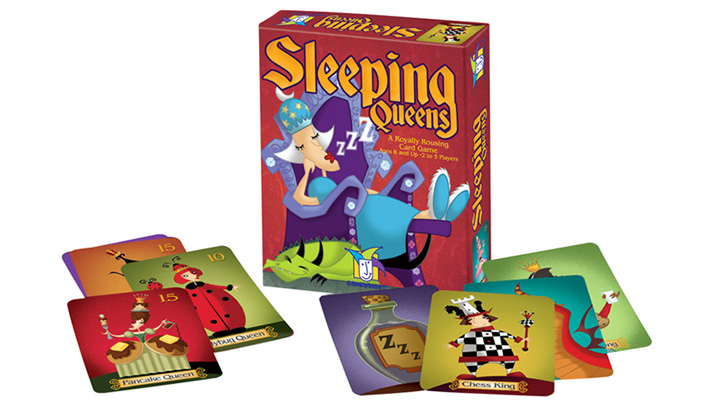 This week's Thrift Treasure is a unique card game called Sleeping Queens. You must wake the queens before your opponent and watch out for the knights! - SahmReviews.com